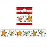 "Gingerbread Man Party Tape 3"" x 20'"