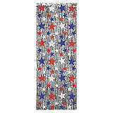 Patriotic Star 1-Ply FR Gleam 'N Curtain 8' x 3'