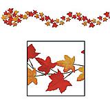 Autumn Leaf Garland 6'