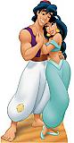 Aladdin and Jasmine - Disney Classics Cardboard Cutout Standup Prop
