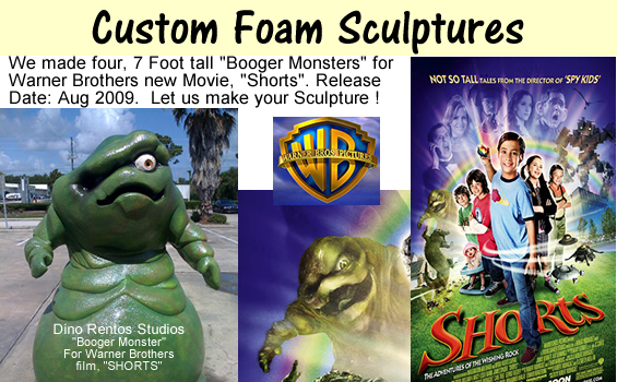 Custom Sculptures for Film Premier