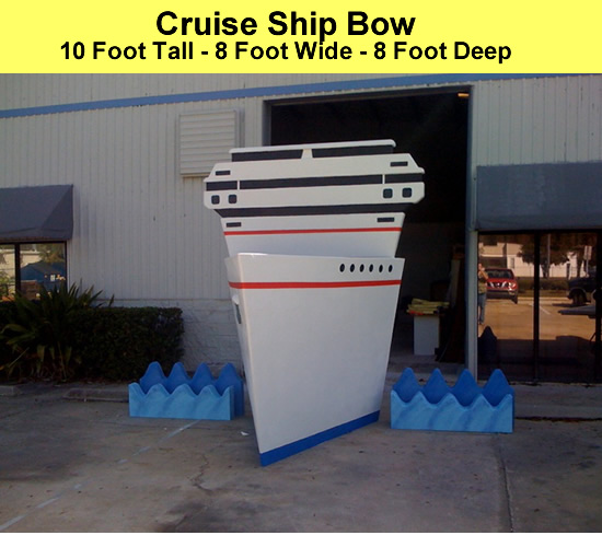 10 Foot Tall Cruise Ship