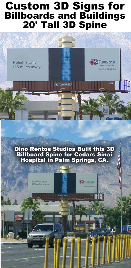 Giant signs for buildings and Billboards