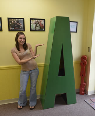 Letters and numbers giant big oversized made from for Cheap 3d cardboard letters