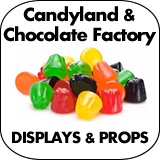 Candyland & Chocolate Factory Cardboard Cutouts