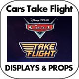 Cars Take Flight Cardboard Cutout Standup Props
