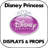 Disney Princess Cardboard Cutout Standup Props