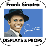 Frank Sinatra Cardboard Cutout Standup Props