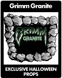 Grimm Granite  - Exclusive Halloween Props