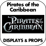 Pirates of the Caribbean Cardboard Cutout Standup Props
