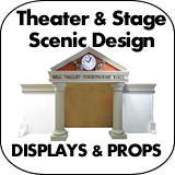 Theater & Stage Scenic Design Displays & Props