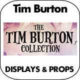 Tim Burton Cardboard Cutout Standup Props