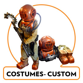 CUSTOM MADE COSTUMES AND PROPS