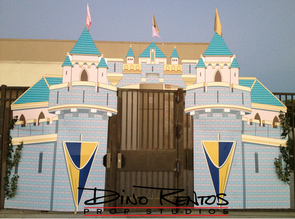 Castle Entrance Cardboard Cutout Standup Prop