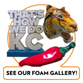 FOAM PROPS AND DISPLAYS GALLERY