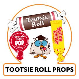 TOOTSIE ROLL PROPS CANDY