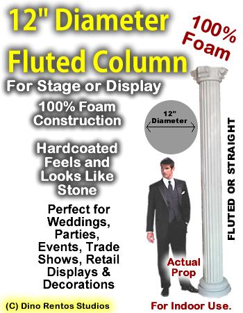 "Foam Column Prop 12"" Diameter"