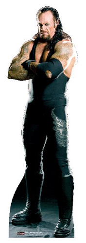 The Undertaker - WWE Cardboard Cutout Standup Prop