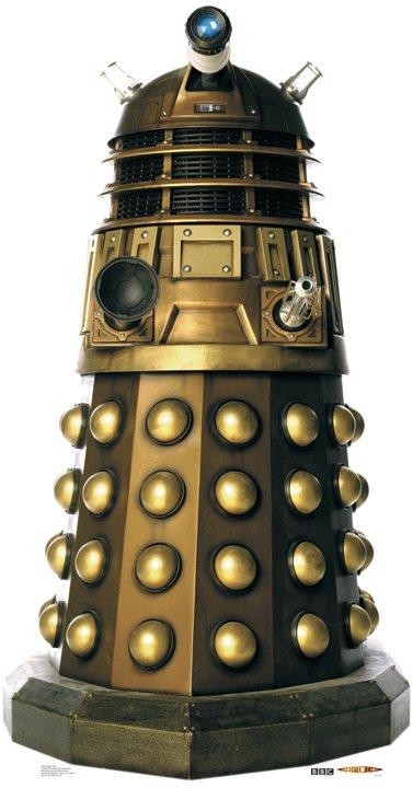 Dalek Caan - Doctor Who Cardboard Cutout Standup Prop
