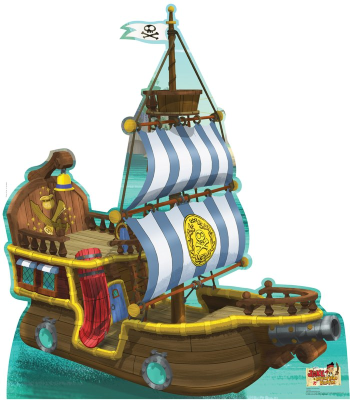 Bucky Pirate Ship - Jake and the Neverland Pirates ...