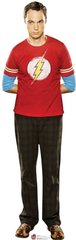 Sheldon 2 - The Big Bang Theory Cardboard Cutout Standup Prop