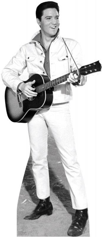Elvis White Jacket - Elvis Cardboard Cutout Standup Prop