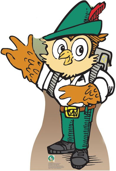 Woodsy Owl - USDA Forest Service Cardboard Cutout Standup Prop