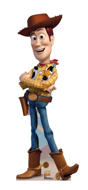 Woody - Toy Story Cardboard Cutout Standup Prop