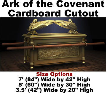 Ark of the Covenant Cardboard Cutout Standup Prop