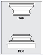 CA6-PE6 - Architectural Foam Shape - Capital & Pedestal