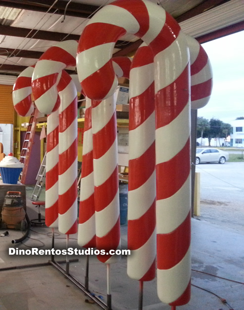 Large Candy Cane Decoration Amazing Large Outdoor Candy Canes  Outdoor Designs Inspiration