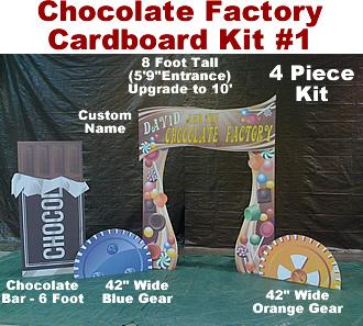 Chocolate Factory Cardboard Props Kit #1
