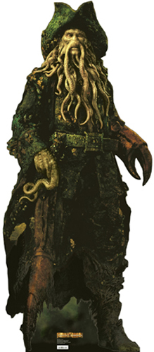 Davy Jones Cardboard Cutout Standup Prop