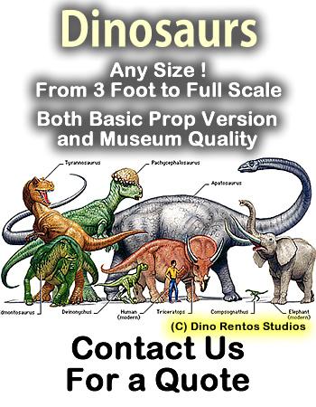Dinosaurs & Monsters Custom Foam Props