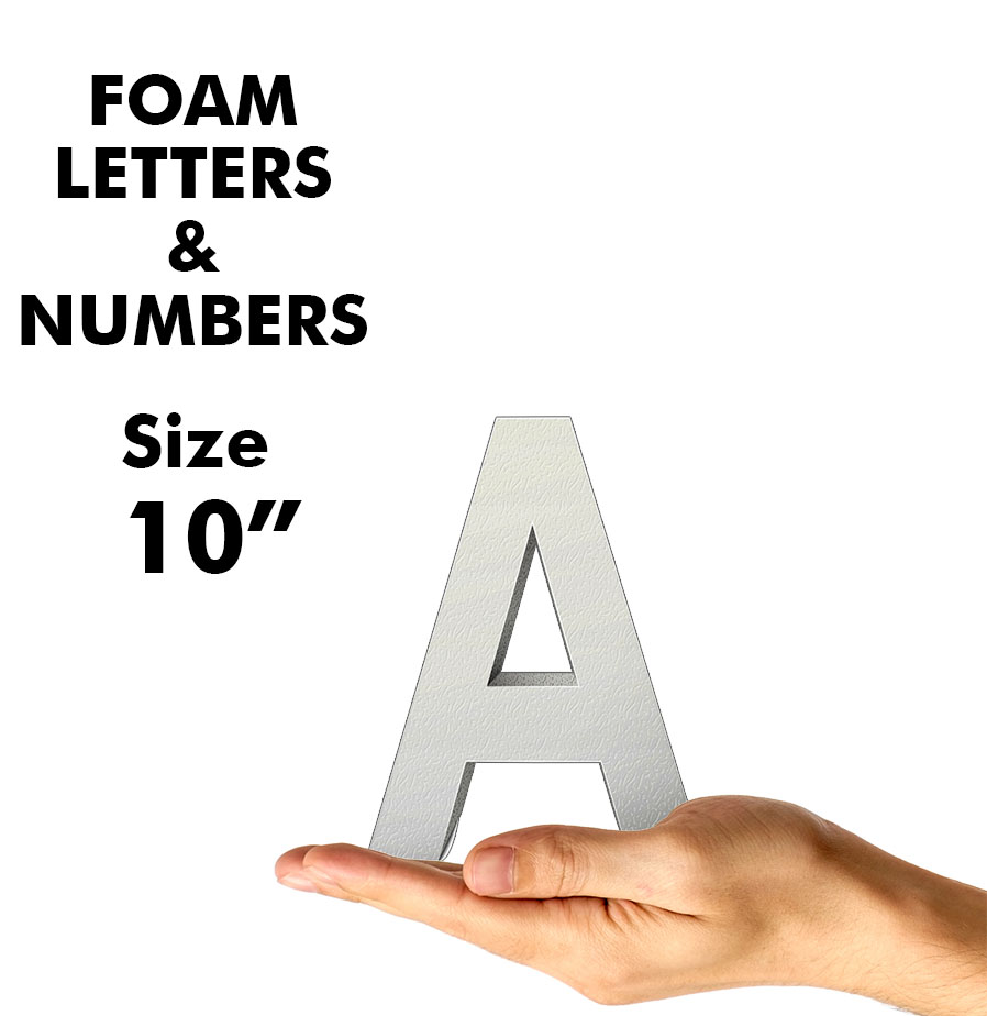 """Letters & Numbers 10"""""""