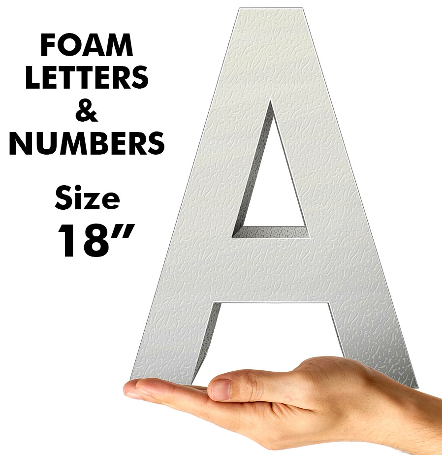 """Letters & Numbers 18"""""""