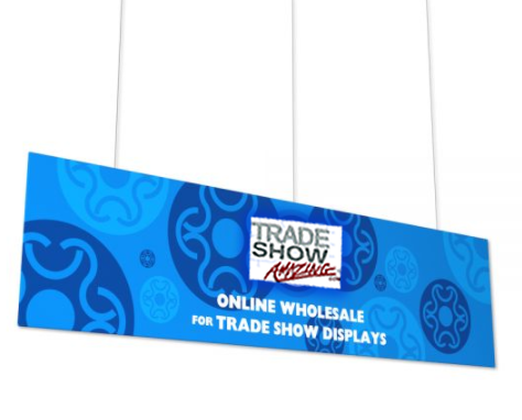 Hanging Banner Flat Rectangle Shape(Style F)