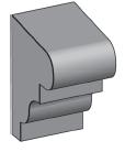 M17 - Architectural Foam Shape - Molding