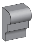 M19 - Architectural Foam Shape - Molding