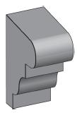 M24 - Architectural Foam Shape - Molding