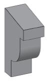M25 - Architectural Foam Shape - Molding