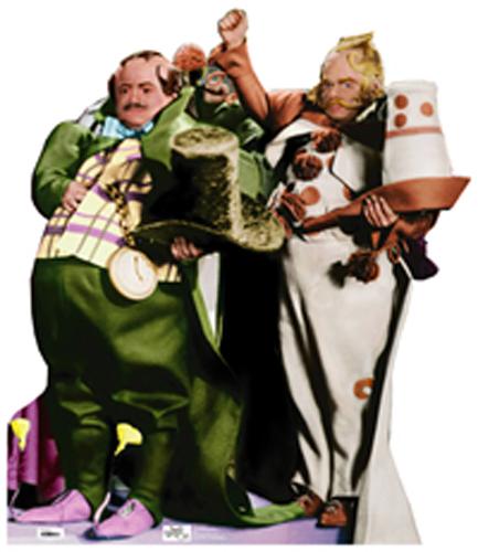Munchkins - The Wizard of Oz Cardboard Cutout Standup Prop