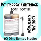1500ml Polyspray Polyurea Cartridge - Foam Coating