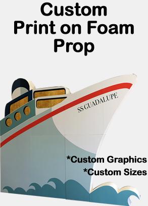 Custom Print on Foam Prop