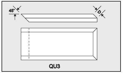 QU3 - Architectural Foam Shape - Quoins