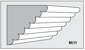 M01 - Architectural Foam Shape - Molding