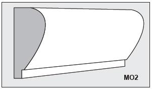 M02 - Architectural Foam Shape - Molding