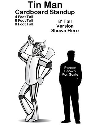 Tin Man - Wizard of Oz Cardboard Cutout Standup Prop