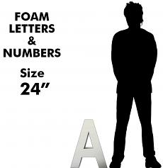 """Letters & Numbers 24"""""""