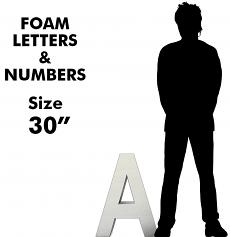 Letters & Numbers 30""